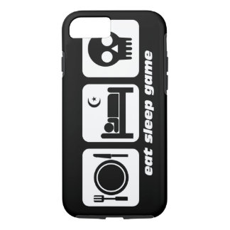 eat sleep game iPhone 8/7 case