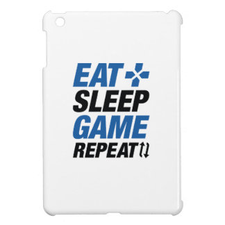 Eat Sleep Game Repeat Cover For The iPad Mini