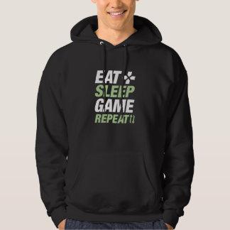 Eat Sleep Game Repeat Hoodie