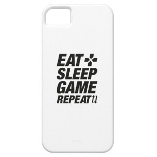 Eat Sleep Game Repeat iPhone 5 Cover