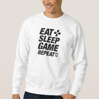 Eat Sleep Game Repeat Sweatshirt