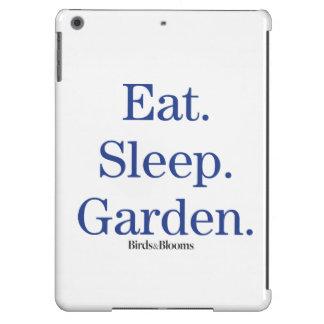 Eat. Sleep. Garden. Case For iPad Air