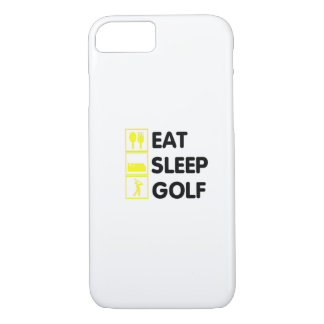 Eat Sleep Golf  Funny Golfing Gift  Dad Grandpa Case-Mate iPhone Case