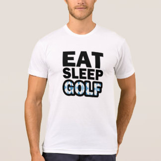 Eat Sleep Golf funny men's shirt