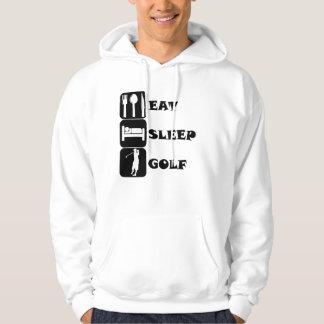 Eat Sleep Golf Hoodie