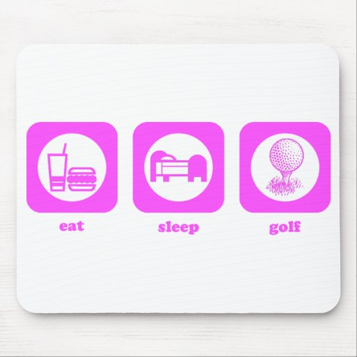Eat. Sleep. Golf. Mousepad