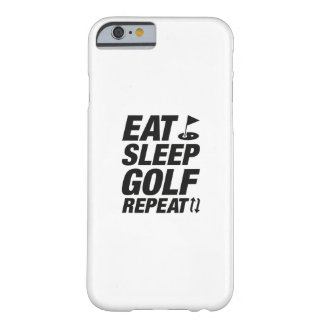 Eat Sleep Golf Repeat Barely There iPhone 6 Case