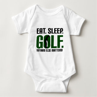 Eat sleep golf t shirts and tee