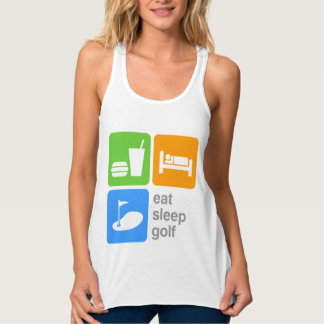 Eat Sleep Golf Tank Top