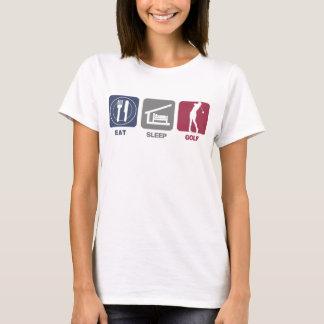 Eat Sleep Golf - Woman T-Shirt
