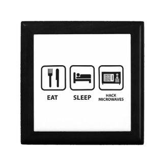 Eat Sleep Hack Microwaves Gift Box