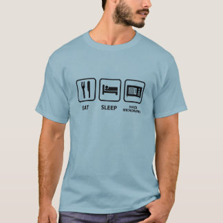 Eat Sleep Hack Microwaves T-Shirt