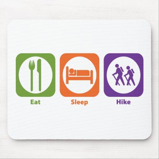 Eat Sleep Hike Mouse Pad