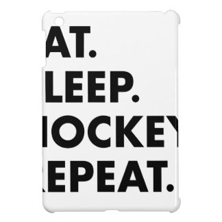 Eat Sleep Hockey Repeat Cover For The iPad Mini
