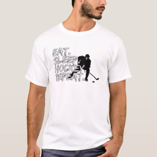 Eat. Sleep. Hockey. Repeat. T-Shirt
