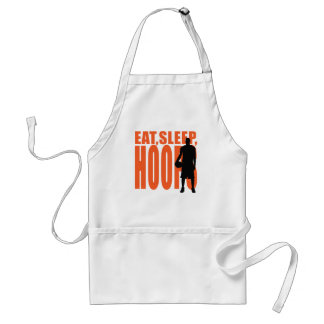 Eat, Sleep, Hoops Standard Apron
