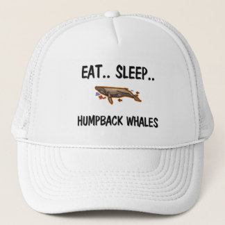 Eat Sleep HUMPBACK WHALES Trucker Hat