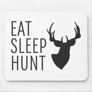 Eat Sleep Hunt Mouse Pad