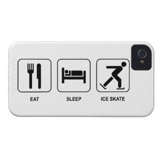 Eat Sleep Ice Skate iPhone 4 Case