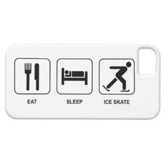 Eat Sleep Ice Skate iPhone 5 Covers