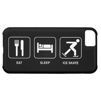 Eat Sleep Ice Skate iPhone 5C Cover