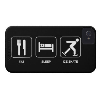 Eat Sleep Ice Skate iPhone 4 Cover