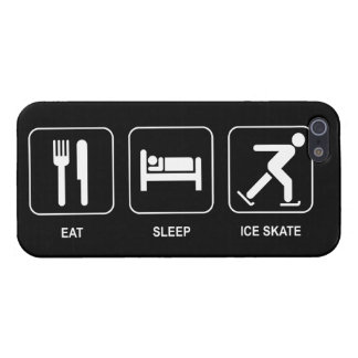 Eat Sleep Ice Skate Case For The iPhone 5