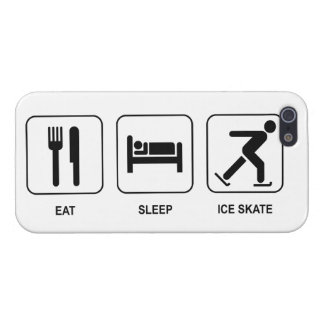 Eat Sleep Ice Skate Cases For iPhone 5