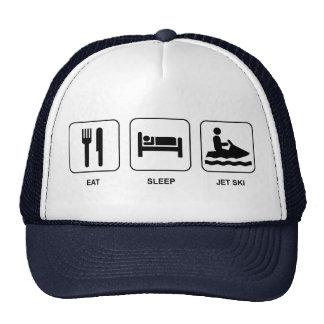 Eat Sleep Jet Ski Trucker Hat