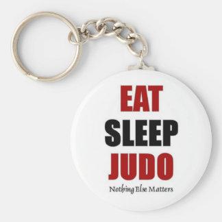 Eat sleep Judo Keychain