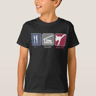 Eat Sleep Karate - Guy T-Shirt