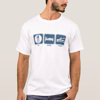 eat, sleep, kayak T-Shirt