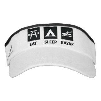 Eat Sleep Kayak Visor