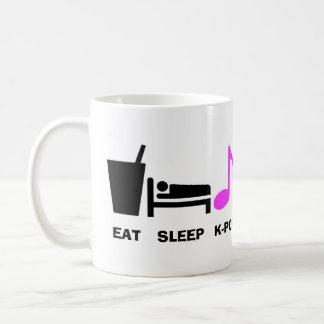 Eat Sleep Kpop Mug