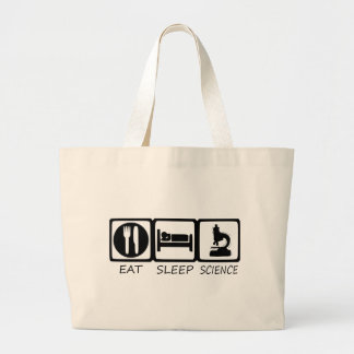 EAT SLEEP LARGE TOTE BAG