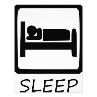 EAT SLEEP LETTERHEAD