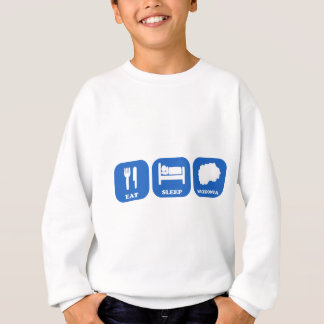 Eat Sleep Macedonia Sweatshirt