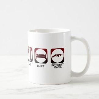 Eat Sleep Mafia Coffee Mug