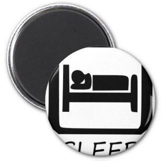 EAT SLEEP MAGNET