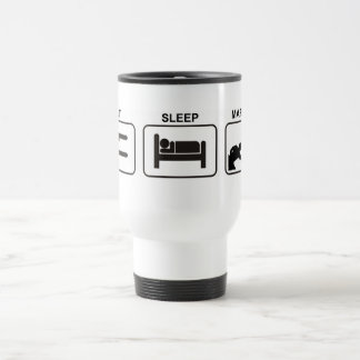 """Eat - Sleep - Marshal"" mug by Flagman"