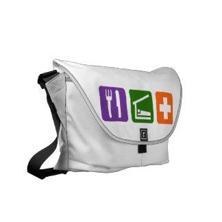 Eat Sleep Medical Commuter Bags