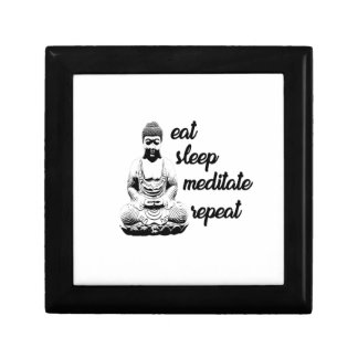 Eat, sleep, meditate, repeat gift box