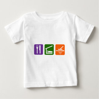 Eat Sleep Metal Detector Baby T-Shirt