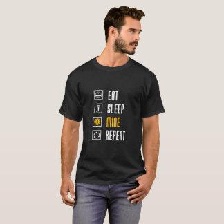 Eat sleep mine for Bitcoin Miners T-Shirt