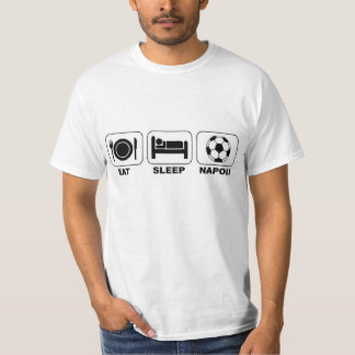 Eat sleep Napoli Soccer T-Shirt