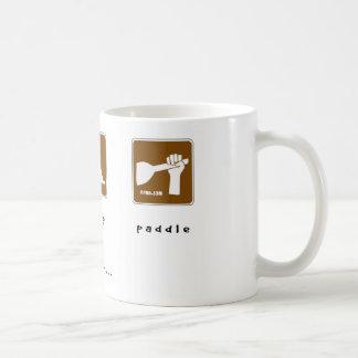 Eat Sleep Paddle Coffee Mug