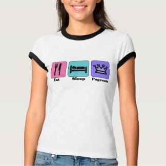 Eat Sleep Pageants T-Shirt