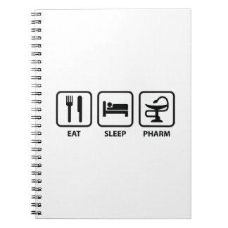 Eat Sleep Pharm Notebooks