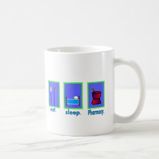 Eat Sleep Pharmacy  Pharmacist Gifts Mugs