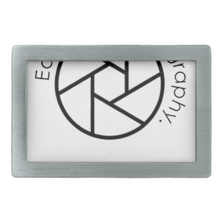 Eat. Sleep. Photography. Camera Rectangular Belt Buckles